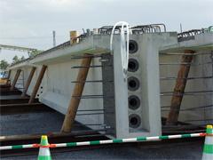 コンポ橋用セグメント桁